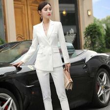 New Style Blazer Female Pants Suits Elegant Women Suit with Trouser Office Wear