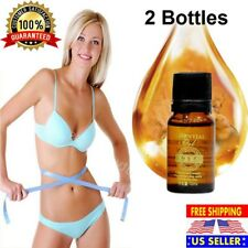2 X SLIMMING ESSENTIAL OIL WEIGHT LOSS WOMEN BODY SLIM FAT BURNING LIQUID PURE
