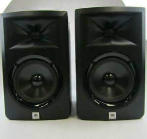 JBL 3 Series LSR305 2Channel Bi-Amplified Powered Studio Monitors Set of 2