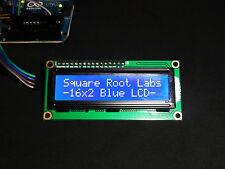 2pcs Blue 16x2 LCD Display HD44780 with I2C IIC TWI Serial Interface 1602 USA