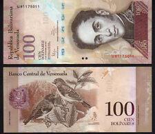 Venezuela 100 Bolivares, 2012 Mint Unc P93