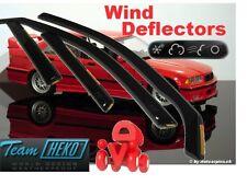 BMW Series 3 E 36 1991 - 1998  SALOON 4.doors Wind deflectors  4.pc  HEKO  11138