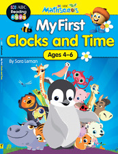 ABC Mathseeds My First Clocks and Time By Sara Leman