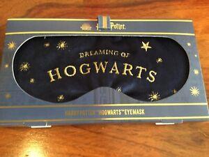 Harry Potter Eye Mask DREAMING OF HOGWARTS  Sleep Mask 💖💕 Wizarding World