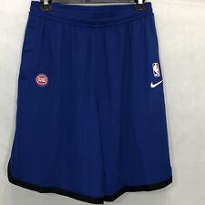 Nike Detroit Pistons NBA Team Issue Practice Shorts Sz Xxl-tall Av1804-495