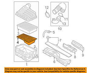 AUDI OEM 15-16 A3 Quattro Air Cleaner Intake-Grille 5Q0129668B