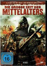 Die grosse Zeit des Mittelalters - (4 DVDs) 11 Filme Box - NEU & OVP