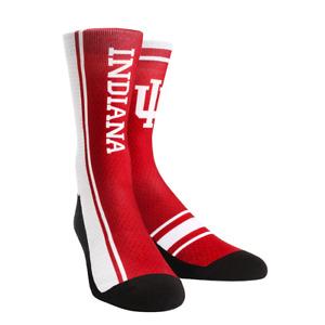 Rock Em Elite Indiana Hoosiers NCAA Licensed Crew Socks
