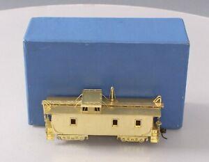 Alco Models X-132 HO Scale BRASS Union Pacific CA-1 Caboose EX/Box