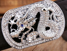 MENS DESIGNER BELTS LTD EDITION G 3D DRAGON DIAMONDS FOR MEN LEATHER H BELT UK