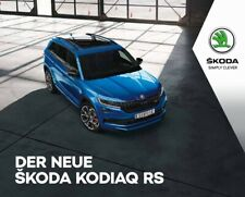 2019 MY Skoda Kodiaq RS 02 / 2019 catalogue brochure Austria  German