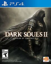 NEW Dark Souls II 2 Scholar of the First Sin (Sony PlayStation 4, 2015)