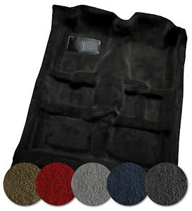 ACC Replacement Carpet Kit for 1986 to 1991 Mazda RX7 801-Black Plush Cut Pile Coupe Passenger Area