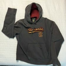 Abercrombie & Fitch Men's Size Large Vintage Style Pullover Hoodie