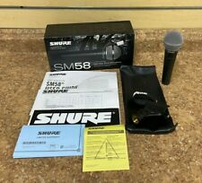 *Shure SM58 Wired XLR Professional Vocal Microphone **Free Shipping**