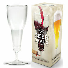 Deaux Stemware Upside Down Style Beer Bottle Wine Glass Goblet Inverted Mugs