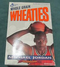 Wheaties Cereal Box ~ 1993 Michael Jordan ~ Collector's Edition ~