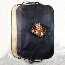 Black Suit Dress Coat Garment Storage Travel Carrier Bag Protector Cover Hanger