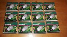 LOTTO STOCK X12 faretto lampada LED E27 3W TOLEDO BALL POTENZA 25W-CALDA-15000H