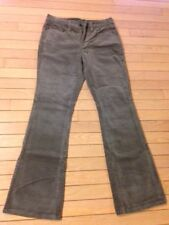 RALPH LAUREN $99 Womens New Gray Cordoroy Straight leg Casual Pants