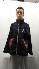 Wilson Elite Staff Tennis Vintage Rare Trainer Windbreaker Jacket Size Large