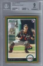 2010 Buster Posey Bowman Gold RC #208... BGS 9 Mint w/9.5 sub