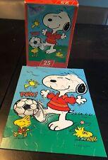 Vintage Hallmark SPRINGBOK Snoopy Peanuts Soccer's a Ball Puzzle