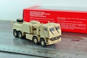 1/87 Scale Herpa 744904 Military Armored Wrecker Mercedes Truck Desert Sand