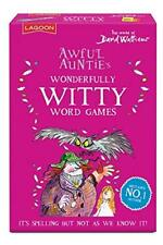Awful Auntys Witty Word Card Game World of David Walliams Childrens Games