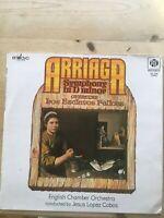 "NEL 2016 Arriaga Symphony in D Minor Jesus Lopez Cobos 1974 PYE Stereo 12"" LP"