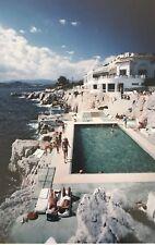 """'Hotel Du Cap Eden Roc' 1976 Slim Aarons original Ctype Photograph 12x16"""" Inches"""