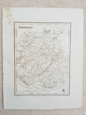 Antique County Map.Shropshire C1831 Engraved By S Lewis
