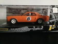 Pioneer Slot Car Ford Mustang Notchback Tangerine Orange J Code Special J100714