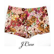 NEW J. Crew Woman's Water Color Lilly Shorts Size 6