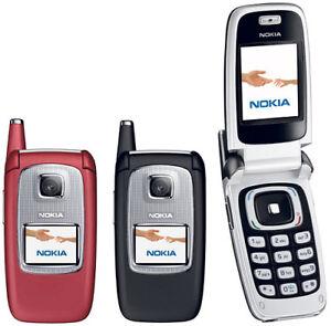 Nokia 6103 Bluetooth FM Radio MP3 CAMERA fold Original Unlocked Cellphone