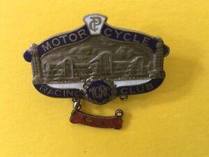 Badge. Motor Racing Club.  1929.