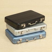 Aluminum Business Credit Cards Box Mini Suitcase Card Holder High-Grade Business