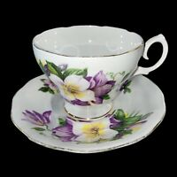 Vintage Cup And Saucer Fine Bone China England