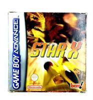 Star X Jeu Nintendo Game Boy Advance GBA PAL EUR Complet