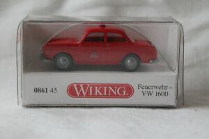 Wiking 0861 45 VW 1600 Limousine Feuerwehr
