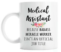 Gift for Medical Assistant, Funny Medical Assistant Coffee Mug, Graduation Gift