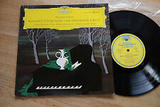 GRIEG concerto for piano & orchestra AESCHBACHER 10 inch EP DGG LPE 17143 tulips