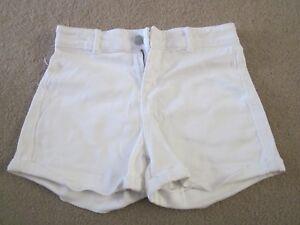 Girls White shorts size 12- Miss Understood