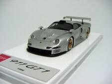 1/43 Make Up Company EM328D Porsche 911 GT1 1996 Silver  Miniwerks