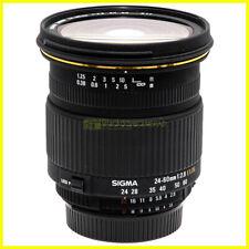 Sigma 24-60 mm. f2,8 EX DG FX obiettivo Full Frame per fotocamere Nikon. Usato.