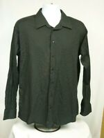 Kenneth Cole Reaction Men's Size XL 17 34-35 Shirt Slim Long Sleeve Dress-S75
