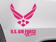 US Air Force Mom Pink Vinyl Car Truck DECAL  Window STICKER