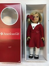 American Girl Kit Kittredge Doll in Christmas Outfit in Box BEAUTIFUL!