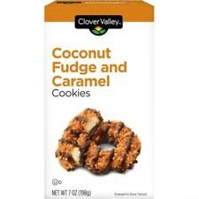 Coconut fudge Carmel cookies 14 oz pack of 2