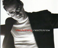 Marc Anthony - I Need To Know 4 track CD single